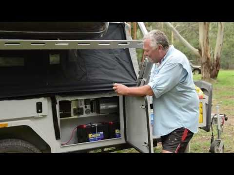2013 Mountain Trail Campers Evolution Soft Floor Camper - Camper Trailer Australia Magazine Review