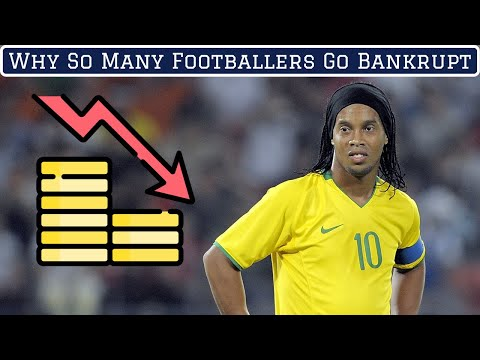 Why 40% Of Professional Footballers Go Bankrupt