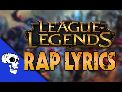 "League of Legends Rap LYRIC VIDEO by JT Machinima - ""Out of Your League"""