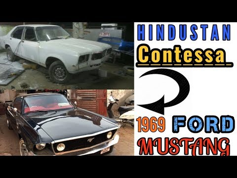 Hindustan Contessa Modified Into 1969 Ford Mustang!!! For Sale!!!