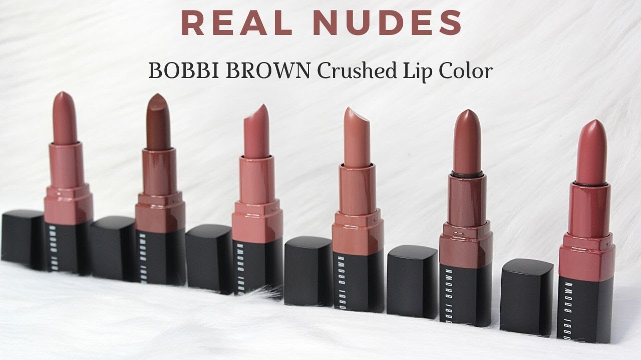 BIYW Review Chapter: #308 BOBBI BROWN CRUSHED LIP COLOR REAL NUDES SWATCH \u0026 REVIEW