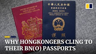 Why some Hongkongers are taking a fresh look at their British National (Overseas) passports