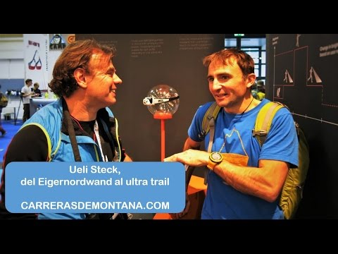 Ueli Steck and mountain running:  From Eigernordwand to ultra trail  Interview by Mayayo @moxigeno