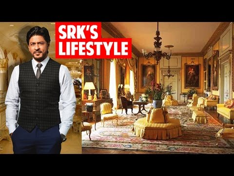 Shahrukh Khan's lifestyle -Net worth, Income, House, Family, car and bike collection