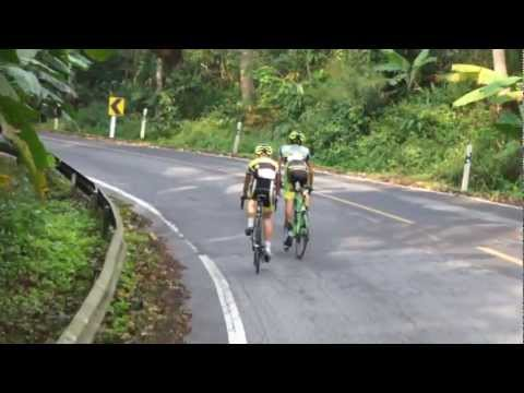 Cycling Race, Doi Inthanon, Thailand, 2013