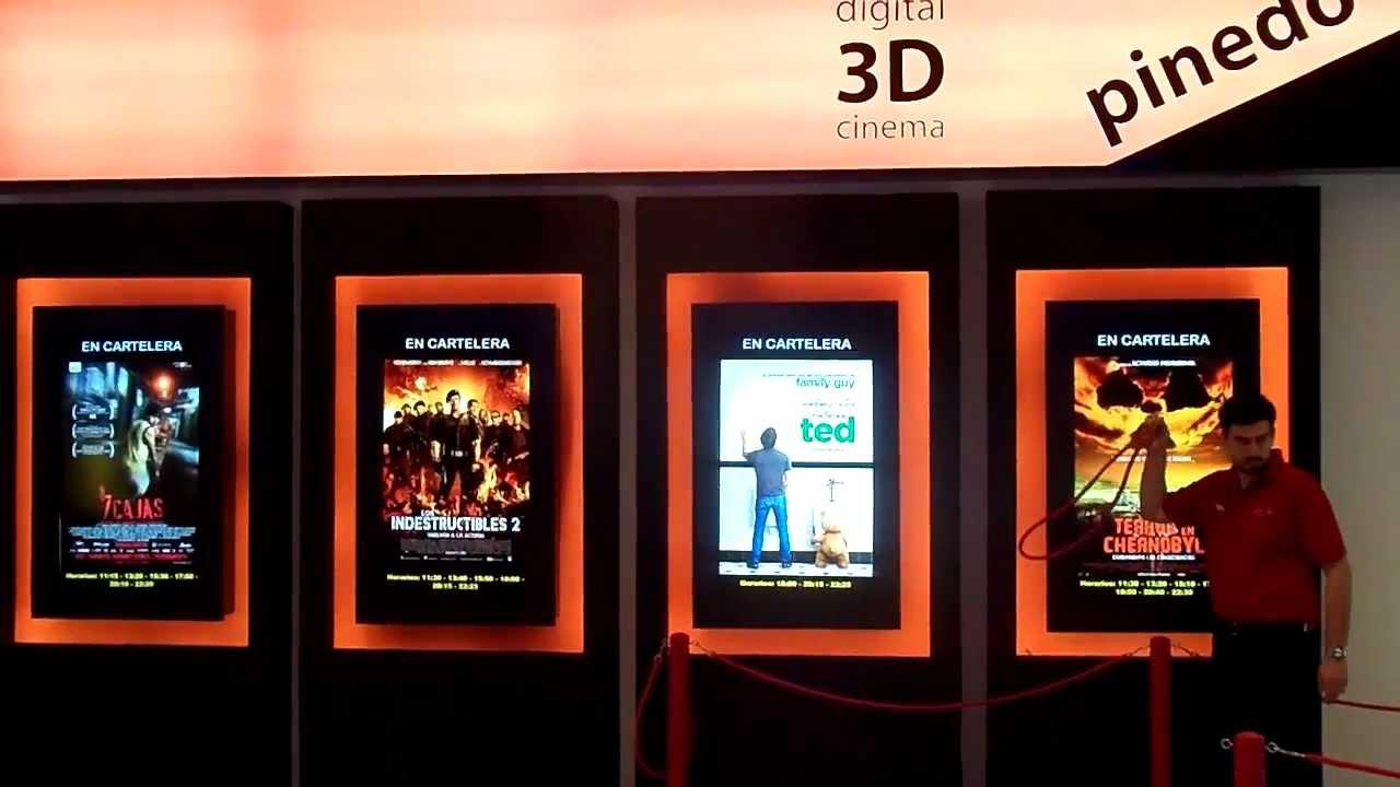 7 cajas en la cartelera del cine de pinedo shopping youtube - Cartelera de cine artesiete las terrazas ...