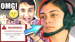 iPHONE TEXTING VIRUS PRANK CALL on SCAMMER! (Prank Calling Scammer)