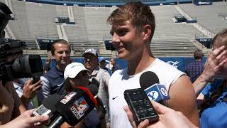 BYU Football - Fall Camp - August 21, 2019 - Zach Wilson Media