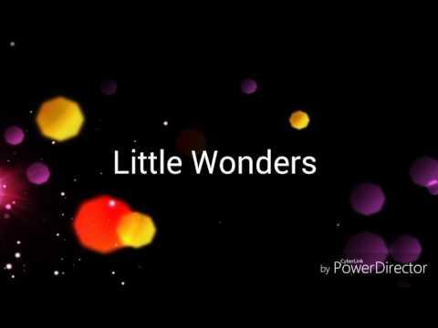 Little Wonders by Rob Thomas with lyrics