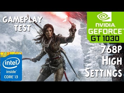 Rise of the Tomb Raider - Hindi on GT 1030 - Core i3 4150 - 8GB RAM PC Gaming Test