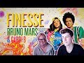 MOM REACTS TO Bruno Mars - Finesse [Feat. Cardi B] [Official Video]