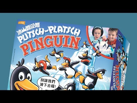 PENGUIN PILE UP 冰山疊企鵝|天鵝快上手