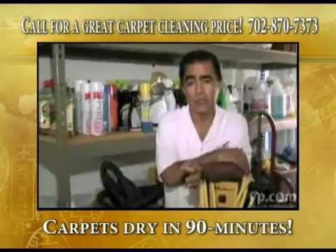 Las Vegas Carpet Cleaning | Ask about our 3 room $74 special