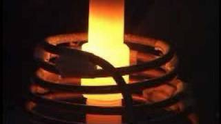 induction brazing steel to copper in a protective atmosphere
