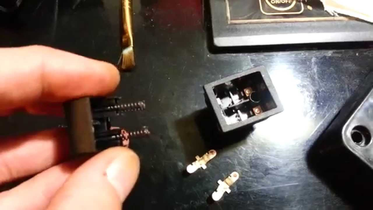 Power Wheels switch cleaning F150 shifter 12 volt  YouTube