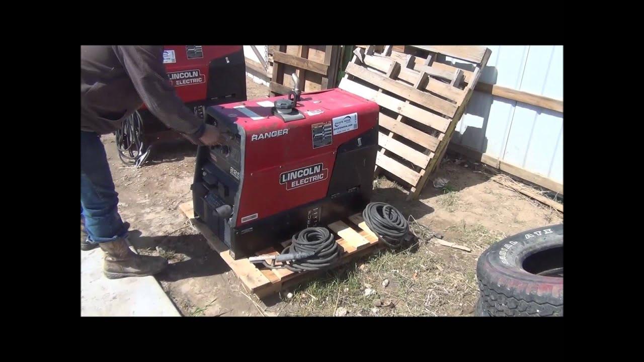 Lincoln Ranger K2382-4 Ranger 250 Gxt Engine Driven Welder ...  |Lincoln- Rangers