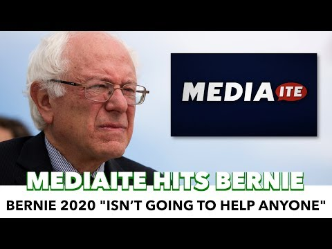 Mediaite Writer Posts Bernie Sanders Hit Piece
