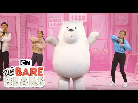 We Bare Bears | Cute Dance 🐻✨| Cartoon Network