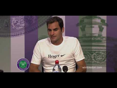 Roger Federer Wimbledon 2017 final full english press conference