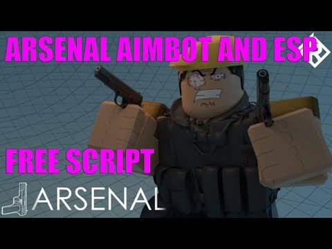 ARSENAL SIMPLEST AIMBOT AND ESP SCRIPT ROBLOX ! EXPLOIT HACK FOR ARSENAL INFINITE KILLS AND WINS