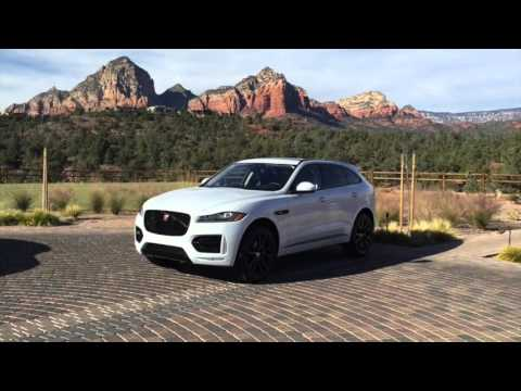 2017 Jaguar F-Pace SUV Interior and Exterior Walk Around