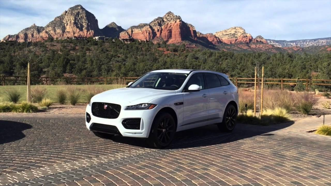 Jaguar F Pace Exterior >> 2017 Jaguar F Pace Suv Interior And Exterior Walk Around Youtube