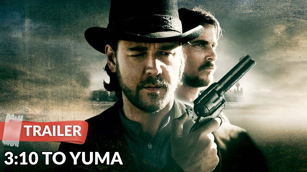3:10 to Yuma 2007 Trailer HD | Russell Crowe | Christian ...