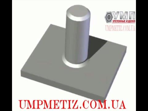 установка I запрессовка I штифт стальной запресcовочный TP I TPS
