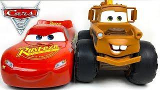 MATER MAX TOW TRUCK MATE DE DISNEY CARS 3 REMOLCA A RAYO MCQUEEN