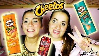 #7 Snack Americani - Patatine di ogni gusto! (^._.^)