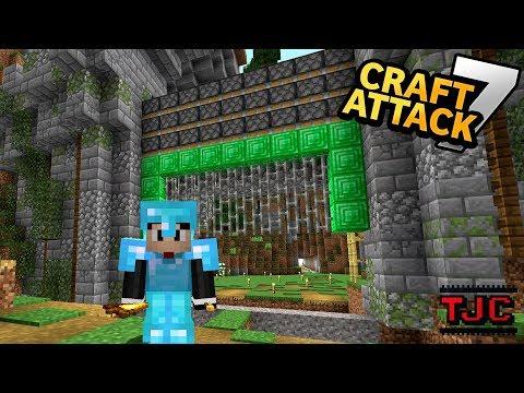XXL MEGA TOR MIT TNT PFEIL KANONE ⚒⚔ Craft Attack VII Ep. 40