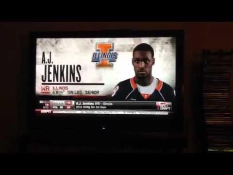 2012 NFL Draft 49ers pick AJ Jenkins