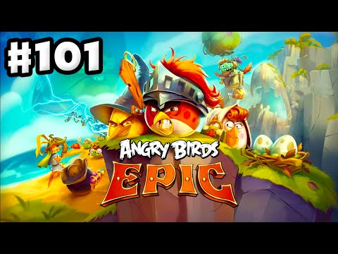Angry Birds Epic - Gameplay Walkthrough Part 101 - Cave Tremors! (iOS, Android)
