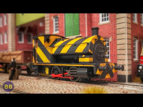 Hardy's Hobbies - Bagnall 14in 0-4-0ST - Model Trains With Real Sound - Compton Quay - Micro Layout