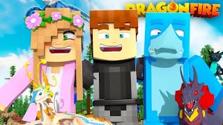 REUNITED WITH SHARKY AND LITTLE KELLY - Minecraft DRAGONFIRE