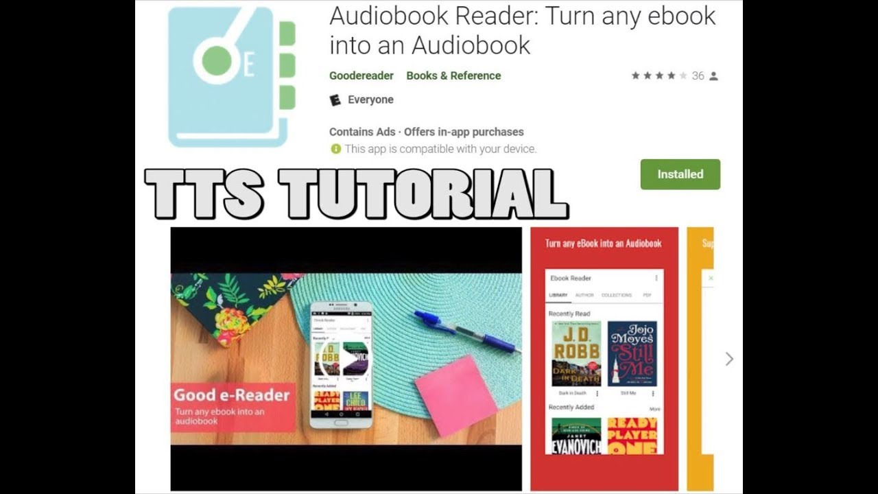 Audiobook Reader - How to use Amazon Polly TTS