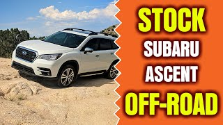 Subaru Ascent Off-road In The Arizona Desert!