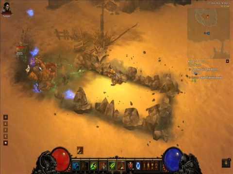 Diablo 3: Killing Xalax Drekroot [Jailer Waller Molten Electrified] (inferno difficulty)