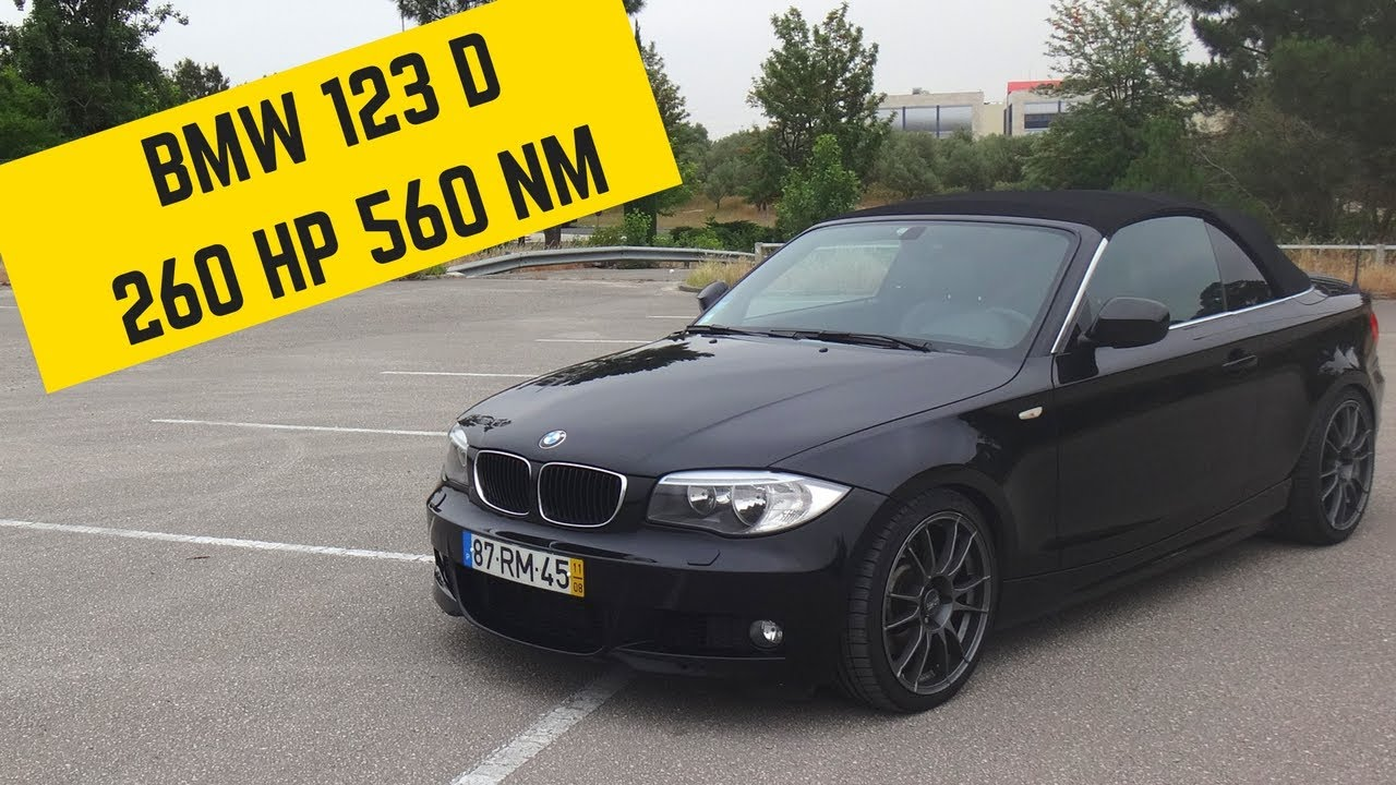 bmw 123d 260hp biturbo portugal stock and modified car reviews youtube. Black Bedroom Furniture Sets. Home Design Ideas