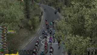 Pro Cycling Manager 2013 Mont Ventoux Gameplay