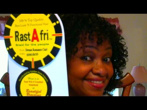 Crochet Braids Rastafri : RastAfri CROCHET BRAIDS ROMANCE CURL & WANT MY $$ BACK GAEL - YouTube
