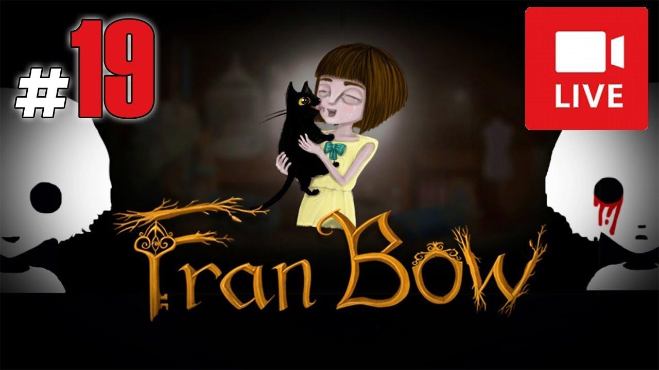 """[Archiwum] Live – Fran Bow! (10) – [2/2] – """"Królik, przyjęcie i Kamala"""""""