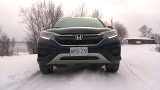 2016 Honda CR-V Test Drive