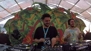 Sllash \u0026 Doppe ( Cyclic ) at Oasis Stage by Neversea Festival 2019