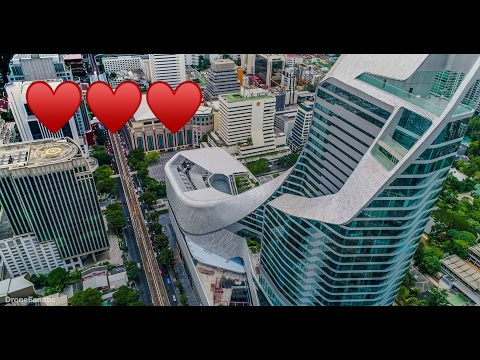 Bangkok Skyline Drone