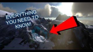 ARK Ragnarok Death worm ice cave | ARK Survival Evolved #4