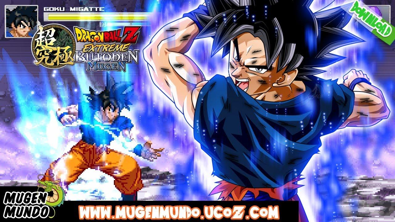 Sasuke-kun & son goku vs naruto-kun & vegeta mugen battle.