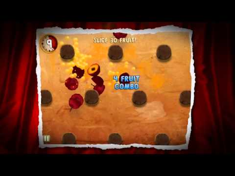 Fruit Ninja: Puss in Boots iOS iPhone / iPod Trailer