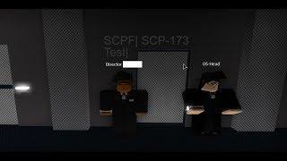   Roblox SCPF Prueba SCP-173