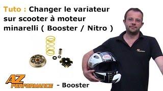 Tuto Changer le variateur de son Nitro / Aérox / Ovetto / ...